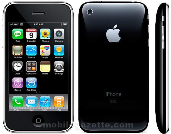 Apple-iphone-3g-black